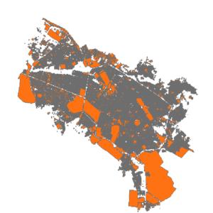 شیپ فایل بلوک های آماری مشهد 1385